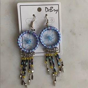 Dream catcher earrings!